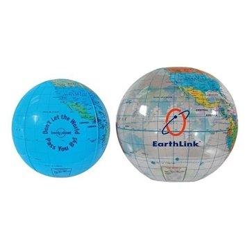 16'' Globe Beach Balls
