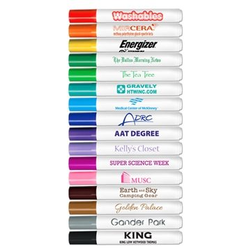 Promotional Washable Markers - USA Made