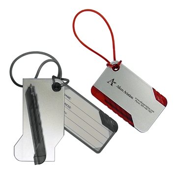 Promotional Luggage Tag W / Pen