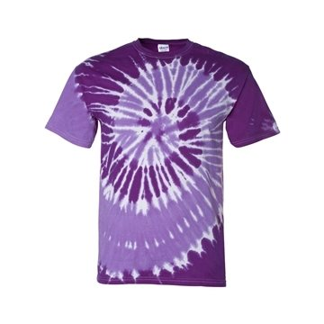 Promotional Tie - Dyed Tone - on - Tone Spiral T - shirt