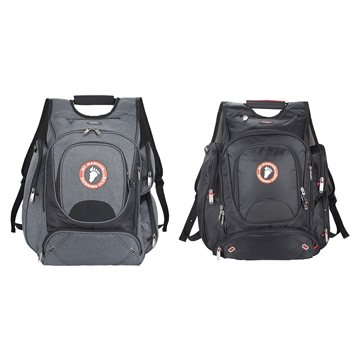 Nylon Elleven Checkpoint Friendly Backpack 17'' Laptop
