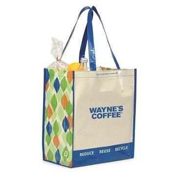 Laminated 100% Recycled Shopper