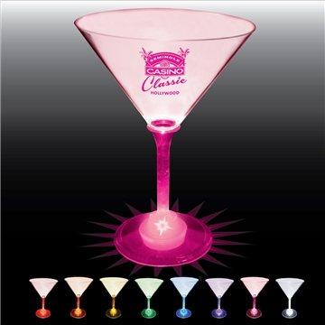 10 oz Lighted Standard Stem Martini