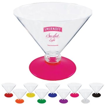 Promotional 10 oz Short Stem Martini
