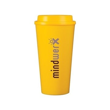 16 oz Cup2go - yellow