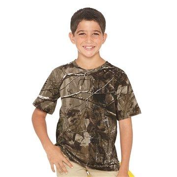 Code V - Youth Camouflage Short Sleeve T-Shirt