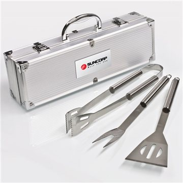 Promotional Deluxe 3 PC BBQ Tool Set