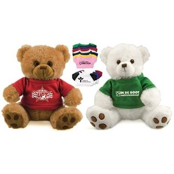 12'' Plush Bear with T-Shirt