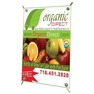 Promotional Mini Banner with Pop - up Stand