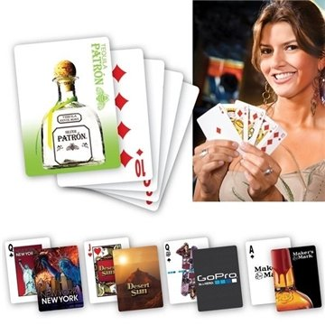 Promotional USA Lucky(TM) Custom Playing Cards