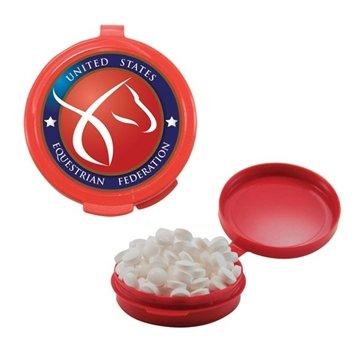 Hook-N-Go Plastic Pill Case w/Mints
