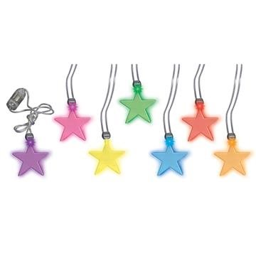 Promotional Star Light - Up Pendant Necklace