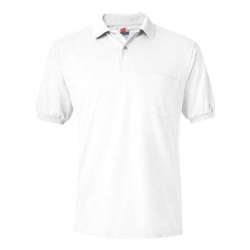 Hanes Stedman Blended Jersey Sport Shirt with a Pocket