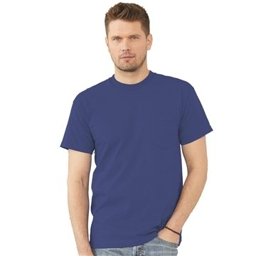 Bayside Short Sleeve T-shirt with a Pocket