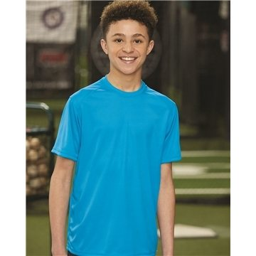 Badger B-Core Youth T-shirt with Sport Shoulders