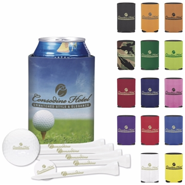 Promotional Collapsible KOOZIE Deluxe Golf Event Kit DTSolo