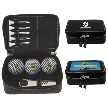 Promotional Zippered Golf Gift Kit - DT Solo