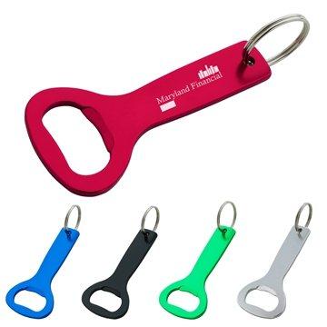 Aluminum Bottle Opener Key Ring