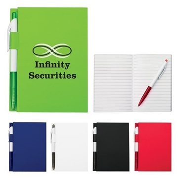 4'' X 6'' Notebook With Pen