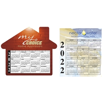 Promotional Bic 20 Mil Eco - Friendly Calendar Magnet
