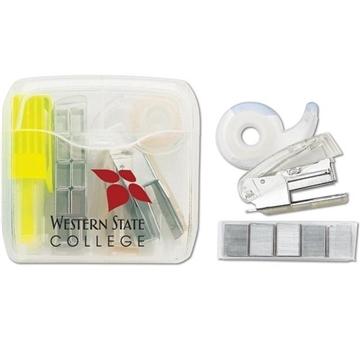 Office On The Go - Highlighter/Tape/Stapler Pack