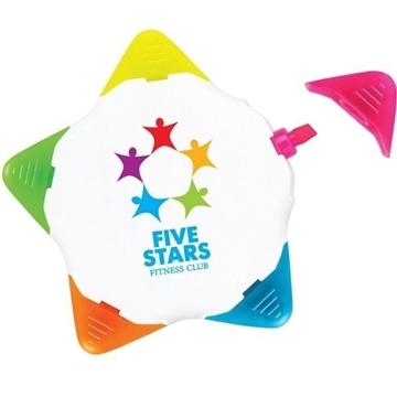 Promotional Starmark Highlighter - White Body