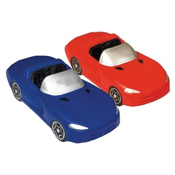 Promotional Convertible Squeezies Stress Relievers - Red or Blue
