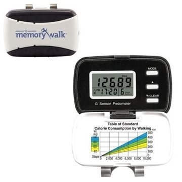 Talking Five-Function Digital Pedometer