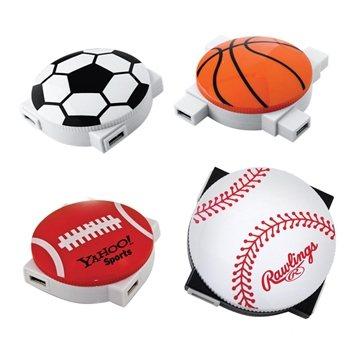 Promotional Sports 4- Port USB 2.0 Hub