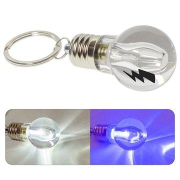 Mini Light Bulb Key Chain