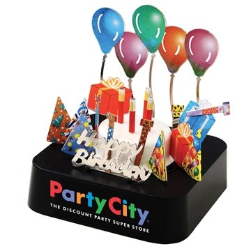 Birthday Party Magnetic Sculpture Block