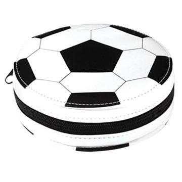 Promotional Sports CD Storage Soccer