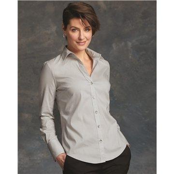 Calvin Klein - Ladies' Cotton Stretch Shirt