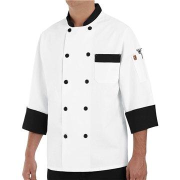 Promotional Chef Designs Garnish Chef Coat