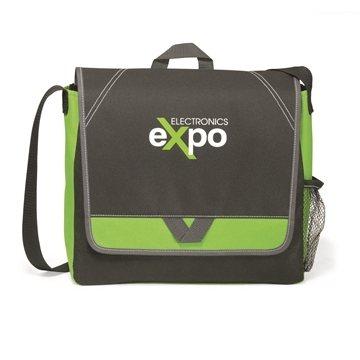 Elation Messenger Bag - Apple Green