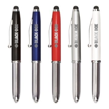 Iwrite Touch Free Stylus With Led & Pen