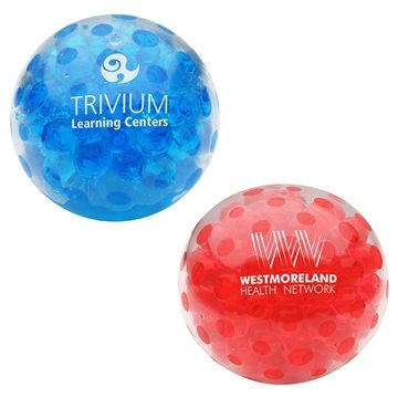 Bead Squeeze Gel Ball - Stress Relievers