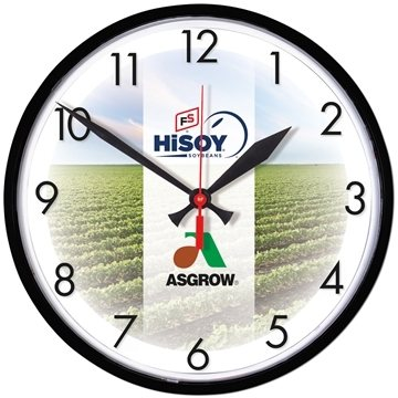 Promotional Wall Clock 12 3/4 Diameter