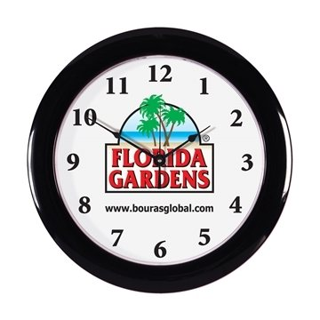 Promotional Wall Clock 10 3/4 Diameter
