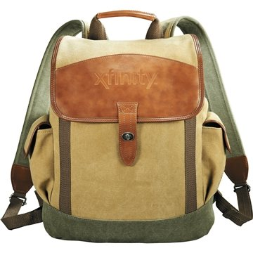 BUY Cutter & Buck Legacy Cotton Rucksack Backpack LIMITED