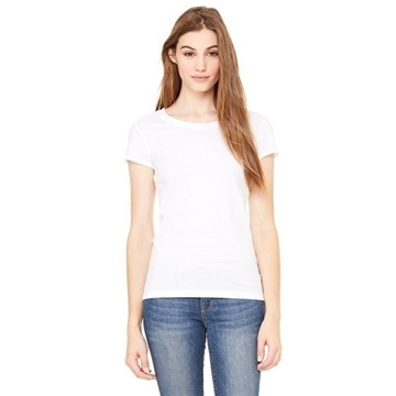 Bella Sheer Jersey Short-Sleeve T-Shirt