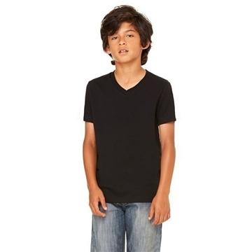 Canvas Jersey V-Neck T-Shirt