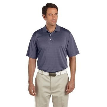 adidas Golf ClimaLite® Textured Short-Sleeve Polo