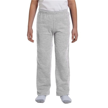 Gildan Youth 8 oz Heavy Blend™ 50/50 Open-Bottom Sweatpants