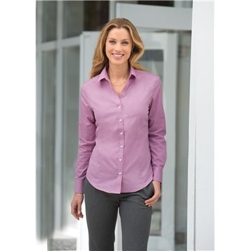 Promotional Port Authority Ladies Crosshatch Easy Care Shirt