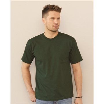 Bayside USA-Made 100% Cotton Short Sleeve T-Shirt