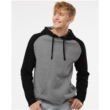 Independent Trading Co. Raglan Hooded Pullover