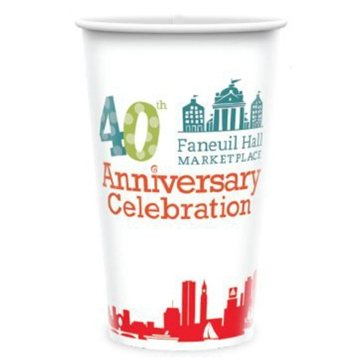 Promotional Paper cold cup, 24 oz