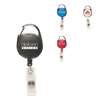 Carabiner Secure-A-Badge