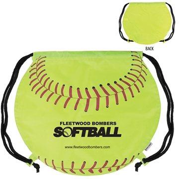 GameTime!  Softball Drawstring Backpack